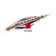Emblemat Marauder na bak Suzuki GZ 125 250 lewy [OEM: 68121C12F00J000]