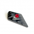 Czarny plastik prawej owiewki Kawasaki KLE 500 [OEM: 140901440]