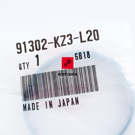 Uszczelka króćca wydechu Honda CR 250 02-04 [OEM: 91302KZ3L20]