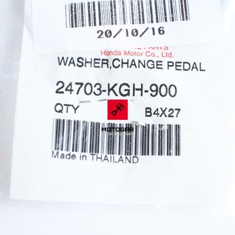 Podkładka dźwigni zmiany biegów Honda CBR 125 [OEM: 24703KGH900]