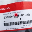 Prawa osłona dłoni handbar Honda Transalp XL 650 700 [OEM: 53180MCB610ZD]