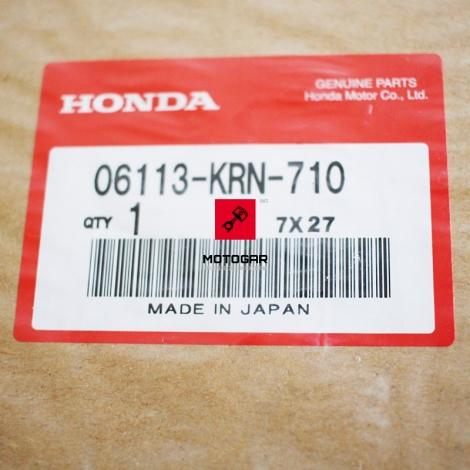 Zestaw, komplet uszczelek A Honda CRF 250 góry silnika [OEM: 06113KRN710]