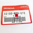 Dźwignia odprężnika dekompresatora Honda XR 650 2000-2007 [OEM: 53180MBN670]