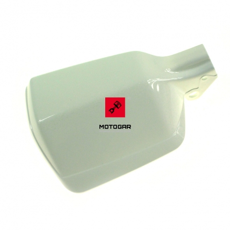 Lewy handar osłona dłoni Honda XRV 750 Africa Twin XL 600 Transalp biały [OEM: 53185MN9000ZD]
