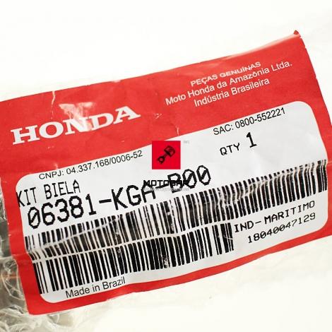 Korbowód Honda XR 125 zestaw łożysko sworzeń [OEM: 06381KGAB00]
