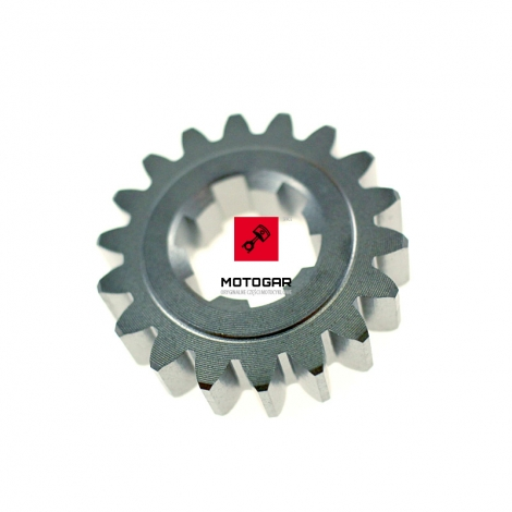 Tryb wałka pośredniego skrzyni biegów Honda CR 80 85 18t [OEM: 23441GC4730]