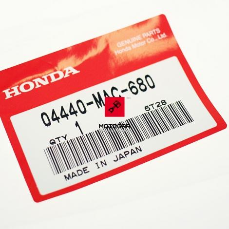 Szprycha Honda CR 125 250 500 przód nypel 95-01 [OEM: 04440MAC680]