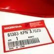 Lewa owiewka plastik lampy Honda CB 125 2015-2018 czewrona [OEM: 61303KPNA70ZD]